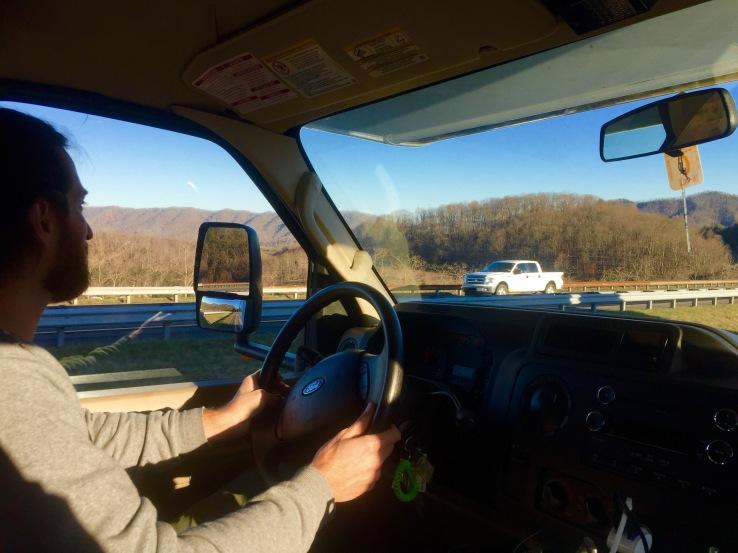 Aaron Driving
