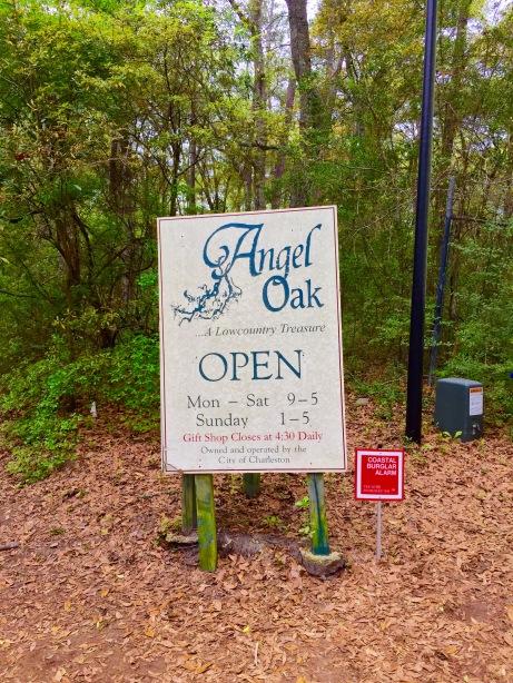 Angel Oak sign 2