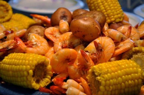 Lowcountry Boil  (photo courtsey dishmaps.com)