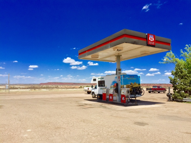 Route 66 Gas Station, near IHaveNoIdeaWhereWeAre, New Mexico