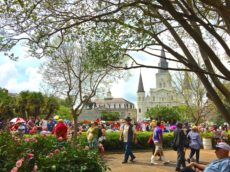 Hub of the fest - Jackson Square