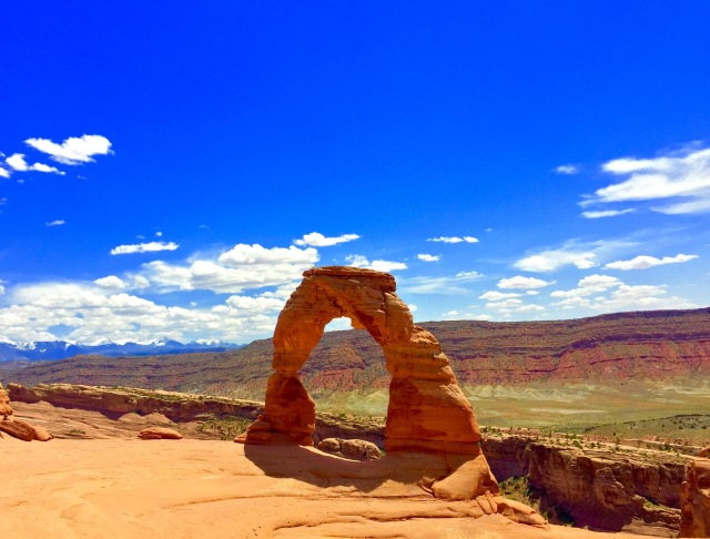 Absolute beauty in Arches National Park.  Moab, UT