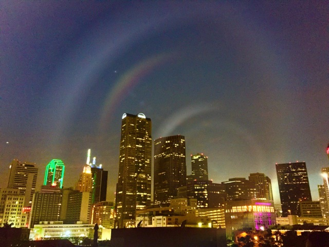 Dallas Night Sky