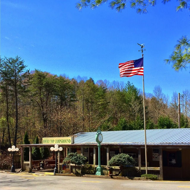 Good Ol' Rocky Top Campground.  Tennessee - The first of 50 nights