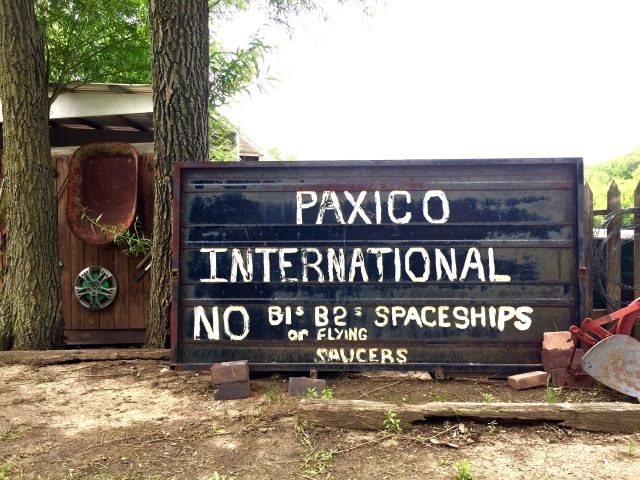 Stayed 17 hours in the middle of nowhere. Paxico, Kansas.  (No spaceships allowed)