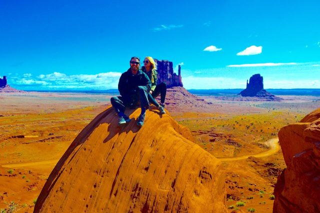 Straddling the border of northern Arizona and southern Utah, Monument Valley is one of the most intensely and genuinely awe-inspiring landscapes in the U.S.  Countless movies, including some of the most famous Westerns, were filmed here.