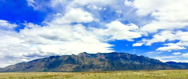 Took a picture of an ENTIRE mountain outside of Albuquerque